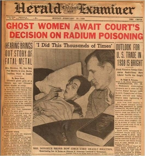 Radium Girls: Abused innocence